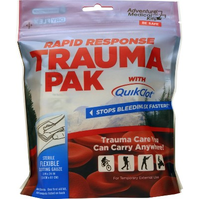 Adventure Medical Rapid Response Trauma Pack with QuikClot - 2pk