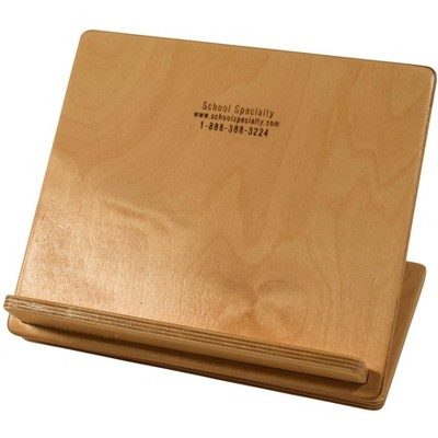 Abilitations Book Buddy Wooden Slant Board, 9 x 12 Inches