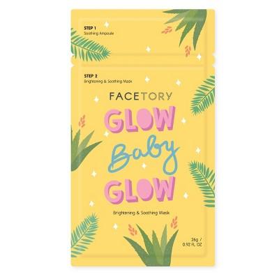 Facetory Glow Baby Glow 2-Step Mask - 0.92 fl oz