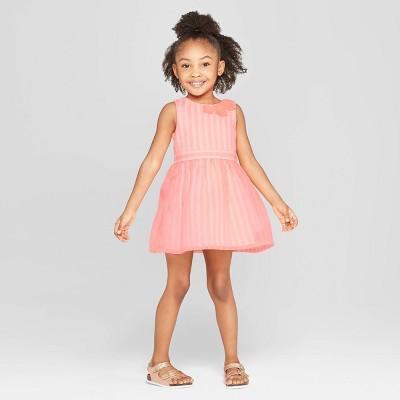 Toddler Girls' A Line Dress - Cat & Jack™ Pink 12M