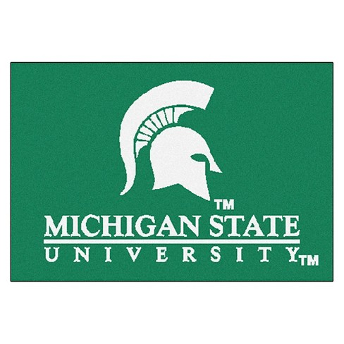 "1'6"" x 2'6"" Michigan State Spartans Starter Mat - image 1 of 1"