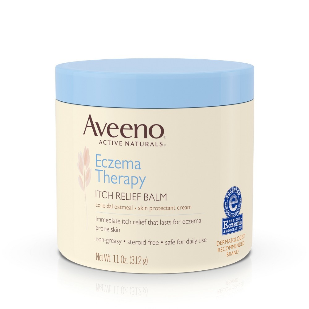 Unscented Aveeno Active Naturals Eczema Therapy Itch Relief Balm - 11oz