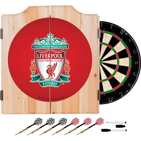 FIFA® Premier League Liverpool Dart Cabinet Set with Board - image 1 of 1