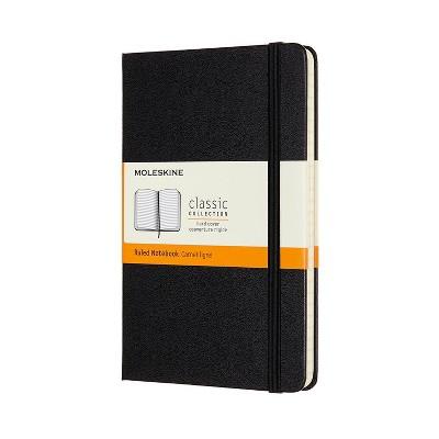 Moleskine Lined Professional Journal Medium Classic Black
