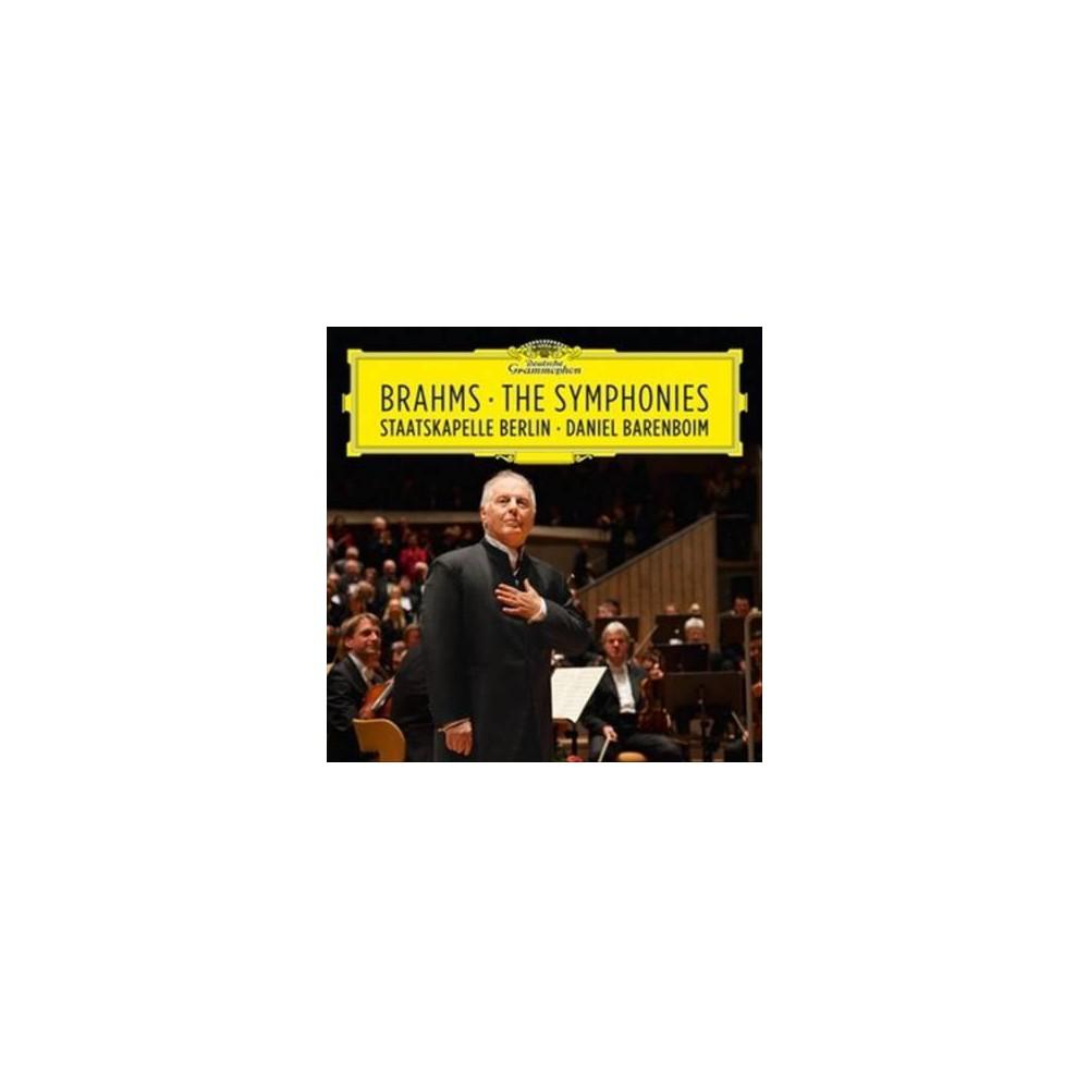 Daniel Barenboim - Brahms:Symphonies (CD)