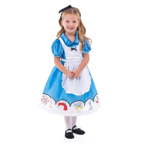 Little Adventures Child's Alice Dress with Hair Bow - image 1 of 1