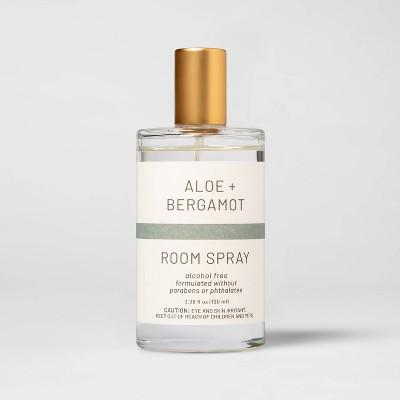 3.3 fl oz Wellness Aloe and Bergamot Room Spray - Project 62™