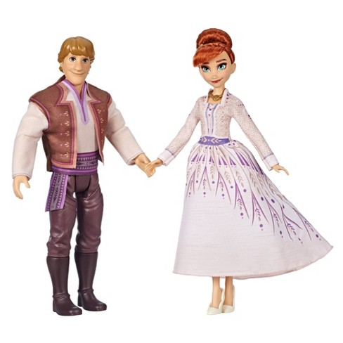 Disney Frozen 2 Anna and Kristoff Fashion Dolls 2pk - image 1 of 3
