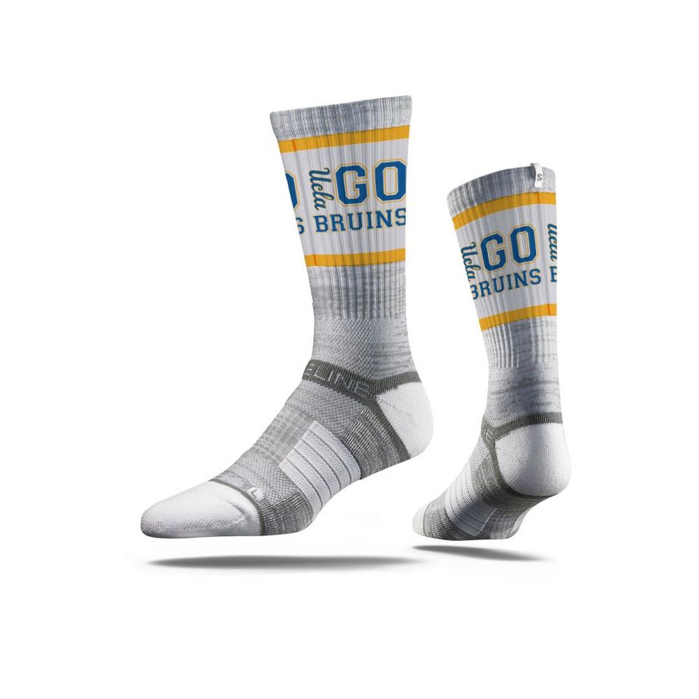 NCAA Slogan Socks Ucla Bruins M/L, Men's