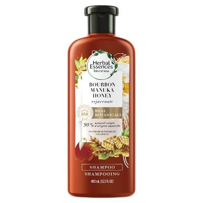 Shampoo & Conditioner: Herbal Essences Bio:Renew Bourbon Manuka Honey