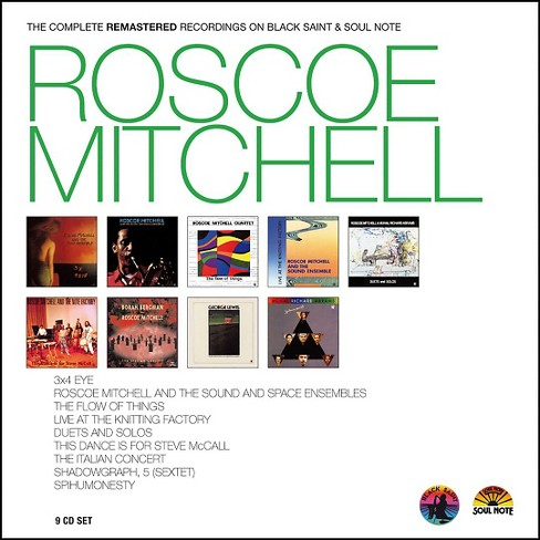 Roscoe mitchell - Roscoe mitchell:Complete remastered r (CD) - image 1 of 1