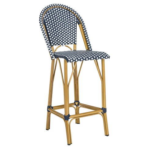 Magnificent French Bistro Patio Bar Stool Safavieh Theyellowbook Wood Chair Design Ideas Theyellowbookinfo
