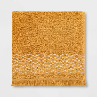 Diamond Weave Bath Towel Gold - Threshold™