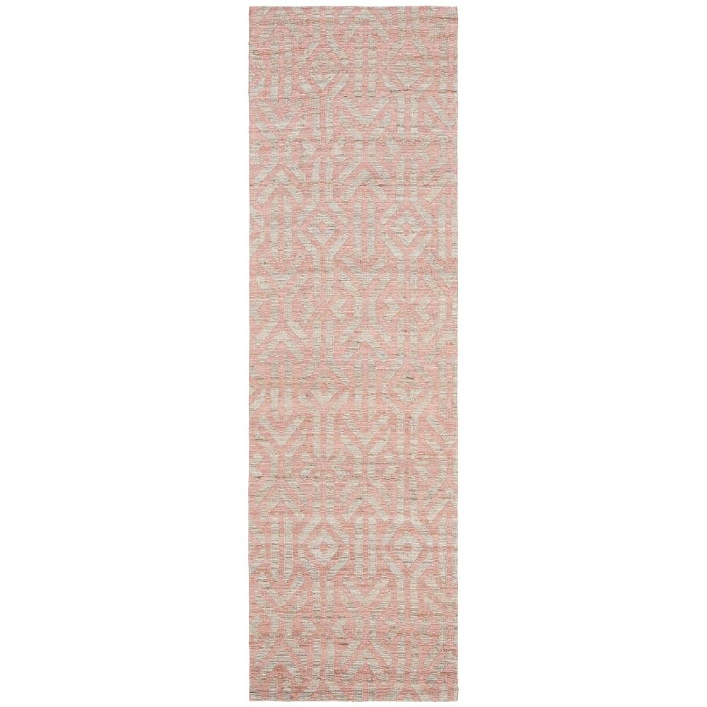 Best Price 22X8 Woven Tribal Design Runner Rug BlueRust Safavieh