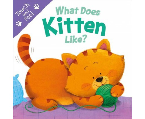 What Does Kitten Like? -  (Touch and Feel) (Hardcover) - image 1 of 1