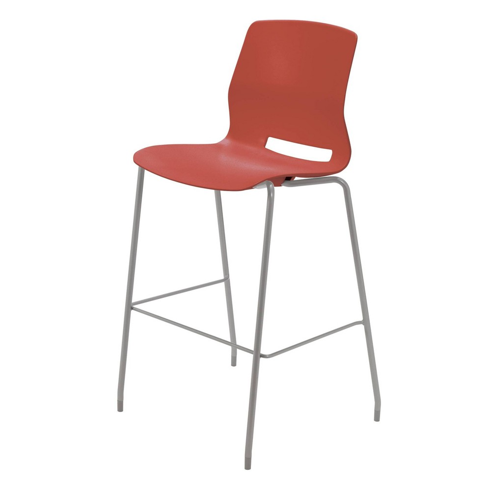 "Image of ""30"""" Lola Stacking Office Stool Peri Red - Olio Designs"""