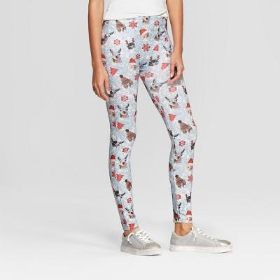 61a8f3fae273c8 Women's Fleece-Lined Seamless Hosiery Leggings – Wondershop™ Gray L ...