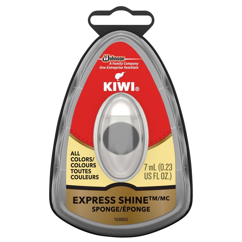 Image of Kiwi Express Shine Sponge - Black, Kids Unisex, Size: Small