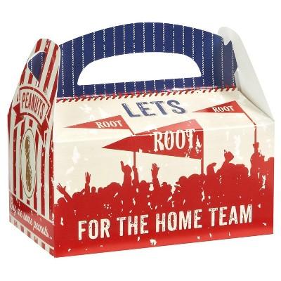 8 ct Baseball Time Favor Boxes