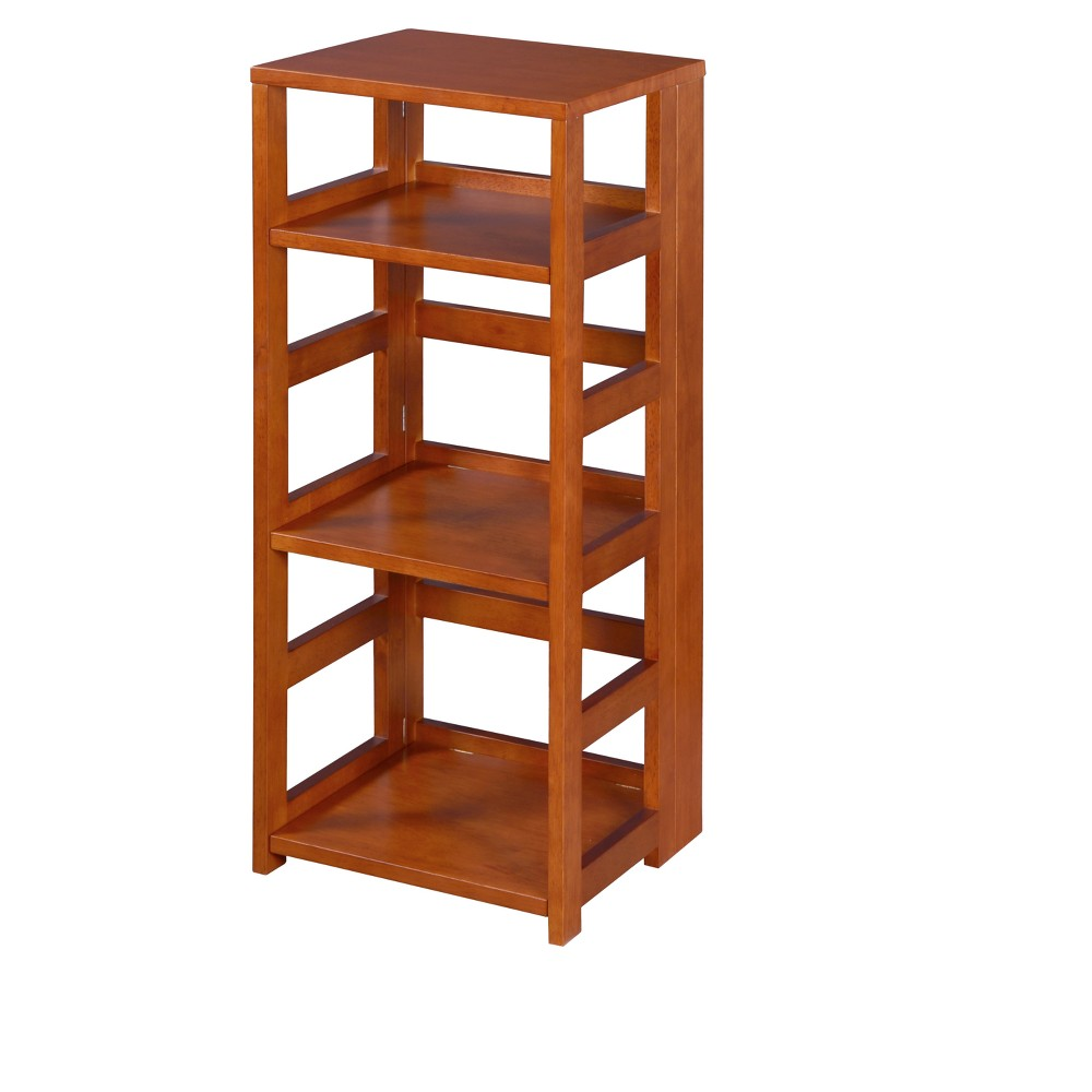 """Image of """"34"""""""" Flip Flop High Square Folding Bookcase Cherry - Niche, Red"""""""