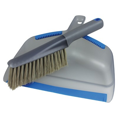 Clorox Brush Clean Dustpan Set