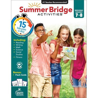 Summer Bridge Activities, Grades 7 - 8 - (Paperback)