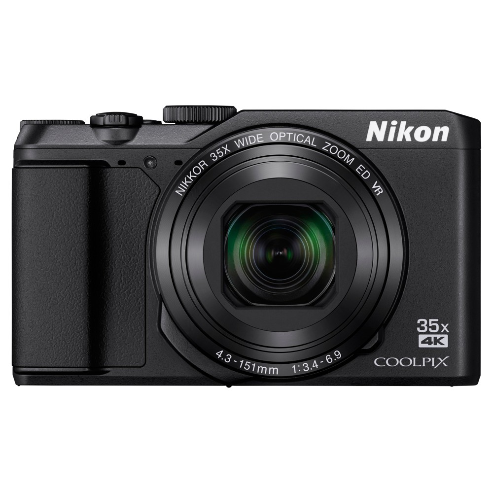Nikon Coolpix A900 Compact Camera - Black (26501) This lightweight and powerful Nikon Compact Point And Shoot Digital Camera 20mp - Black (26501) gives you the tool to shoot the great photos you see. Full featured with all of the latest advances in compact cameras