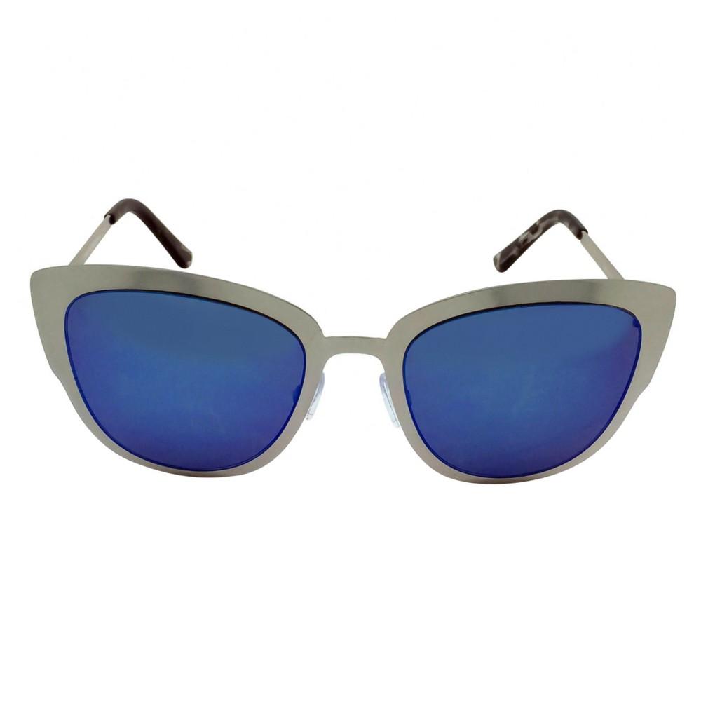 Women's Cateye Sunglasses - Silver