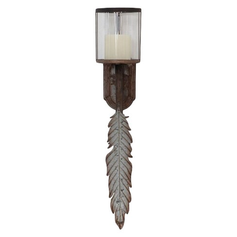Glass & Metal Wall Sconce - 3R Studios® - image 1 of 1