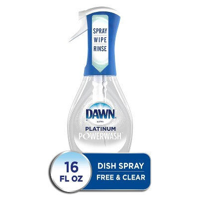 Dawn Platinum Powerwash Spray Free & Clear Starter Kit - 16 fl oz
