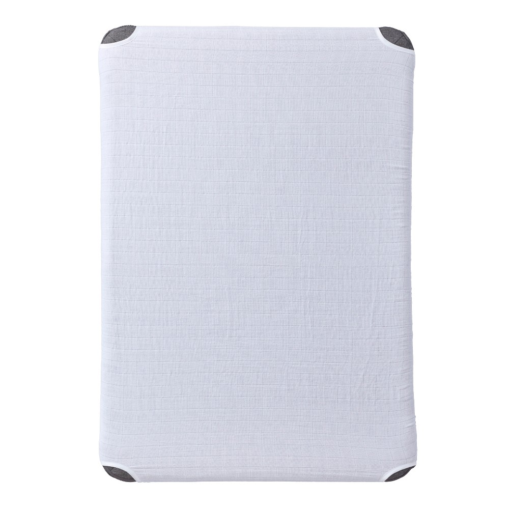 Halo DreamNest fitted sheet - White
