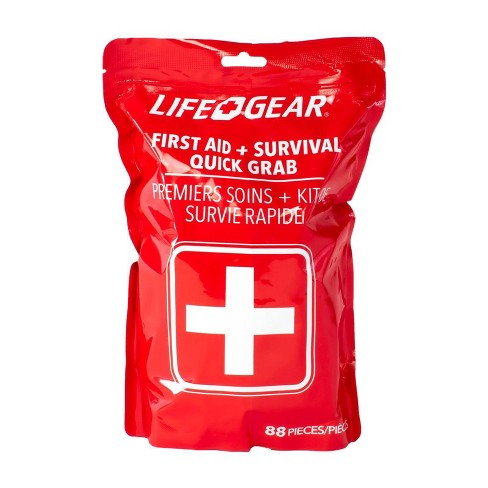 Life+Gear 88pc Quick Grab First Aid + Survival Kit - image 1 of 4