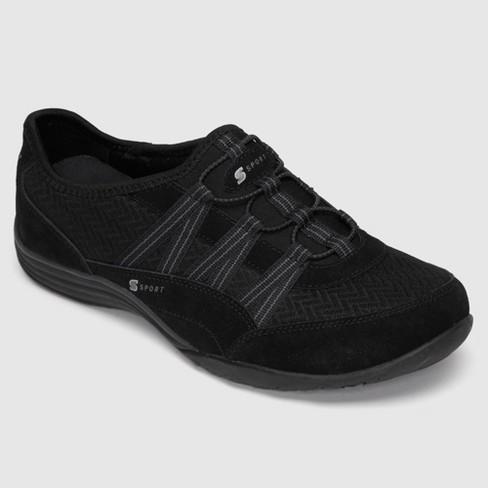 b04860b8f1c1 Women s S SPORT By Skechers BY SKECHERS Relax d Athletic Shoes - Black    Target