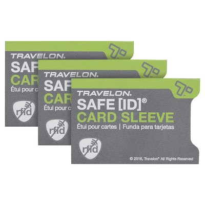 Travelon RFID Credit Card Case - Sleeve Safe