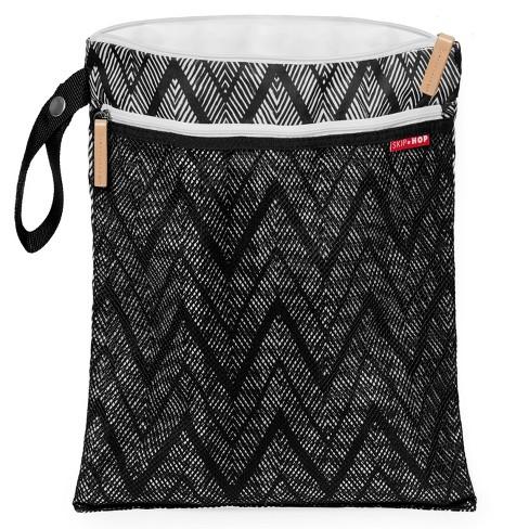 Skip Hop Grab Go Wet Dry Bag Zig Zag Zebra