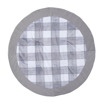 Activity Circle Playmat Homespun - Cloud Island™ Gray Foggy Day