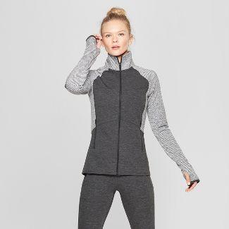 11d1b749d Women's Full Zip Cardio Track Jacket - C9 Champion® Black Heather XXL