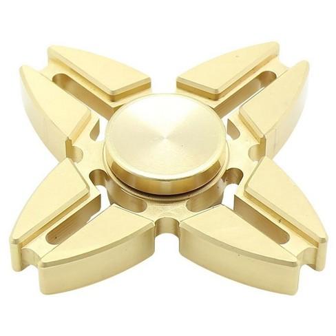 Fidget Spinner 4 Point Metal Spinner