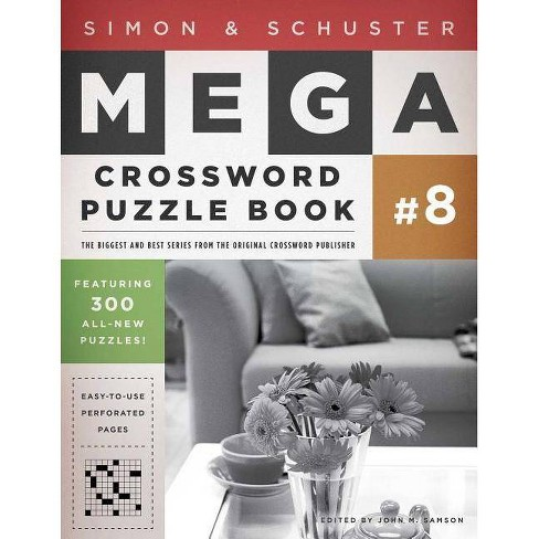 Simon & Schuster Mega Crossword Puzzle Book #8 - (Simon & Schuster Mega Crossword Puzzle Books) - image 1 of 1