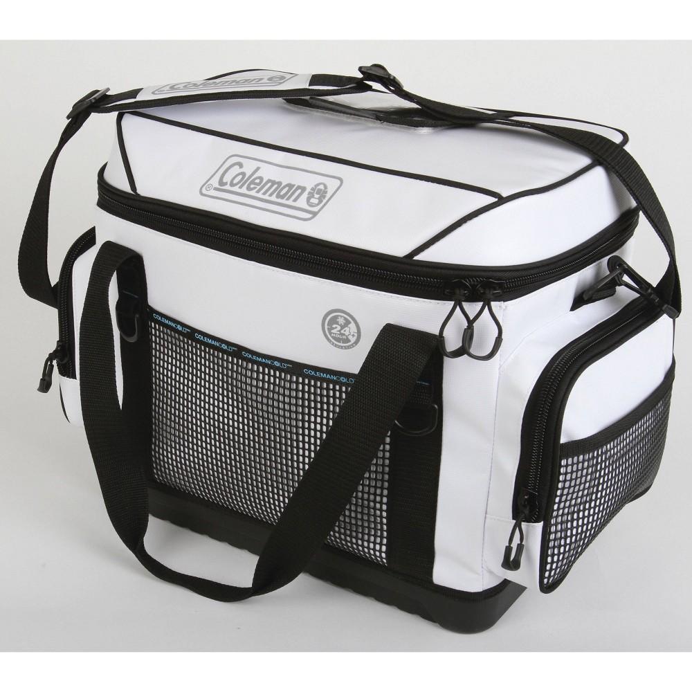 Coleman Soft Sided 56qt Marine Cooler Bag White
