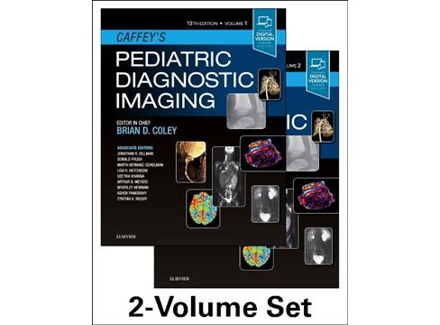 Caffey's Pediatric Diagnostic Imaging -  by Brian D. Coley (Hardcover) - image 1 of 1