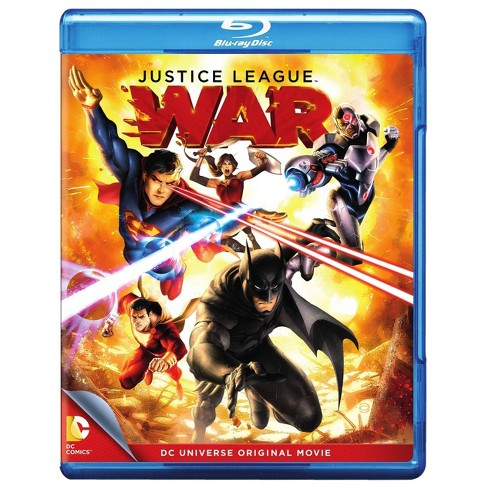 Justice League: War (Blu-ray) - image 1 of 1