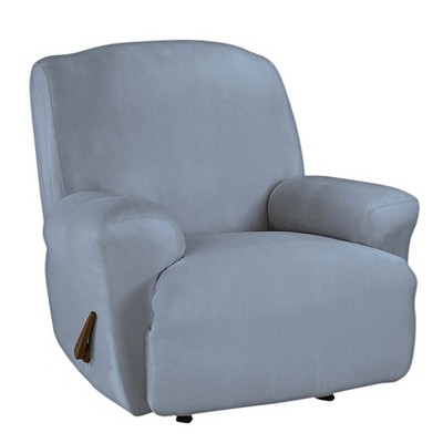 Ultimate Stretch Suede Recliner Slipcover - Sure Fit