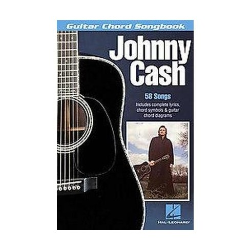 Johnny Cash : Guitar Chord Songbook (Paperback) : Target