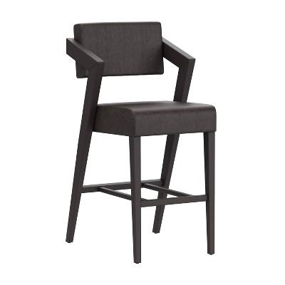 Snyder Stationary Barstool Black - Hillsdale Furniture