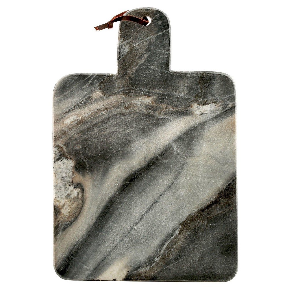 Thirstystone Large Gray Marble Paddle Serving Board