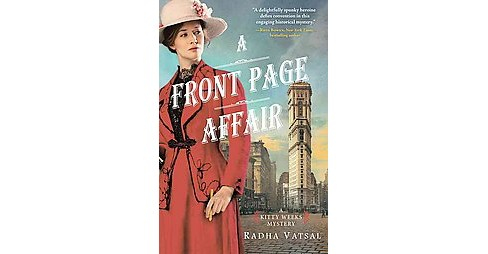 Front Page Affair (Paperback) (Radha Vatsal) - image 1 of 1