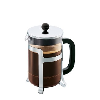 4cup Glass Jesper French Press Silver - Bodum