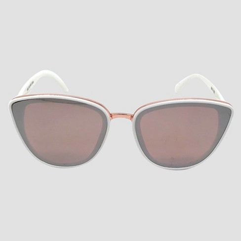 32f2ec13010 Women s Cateye Sunglasses - A New Day™ White   Target