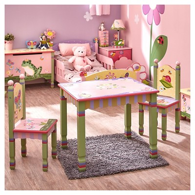 Superieur Fantasy Fields Magic Garden Table U0026 Chair (Set Of 2)   Teamson : Target